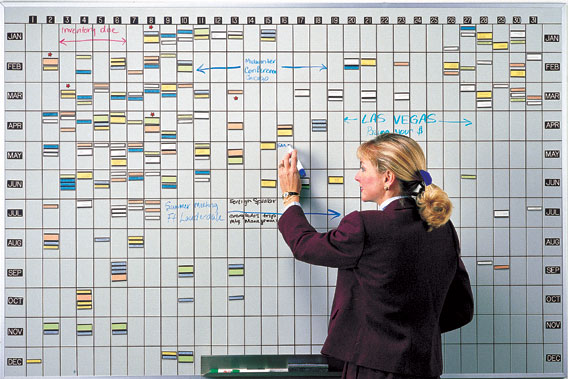 Yearly Calendar Dry Erase Board 12 Month Whiteboard Calendar