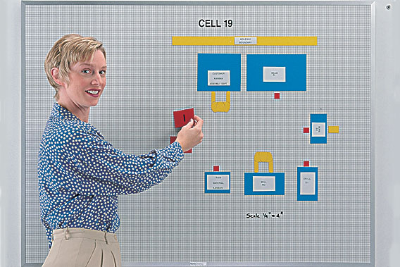cell layout chart whiteboard kit