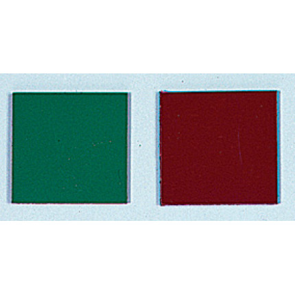double-sided magnet in red and green