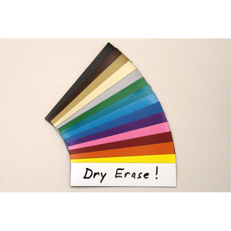 dry erase magnets in a choice of 11 colors