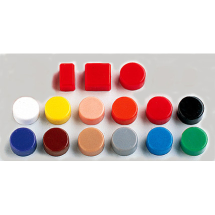 ceramic magnetic indicators with color plastic cap