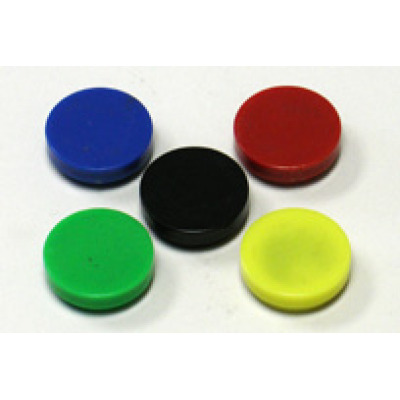 round memo color magnets