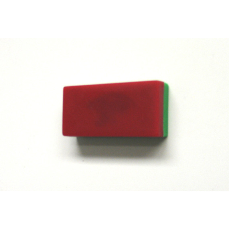 two-sided, rectangular memo magnet