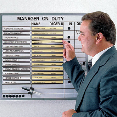 on-duty board