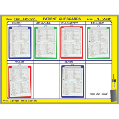 patient clip board kit
