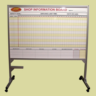 custom roll around whiteboard