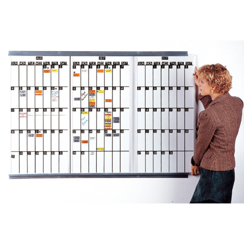 rotating lift-out calendar