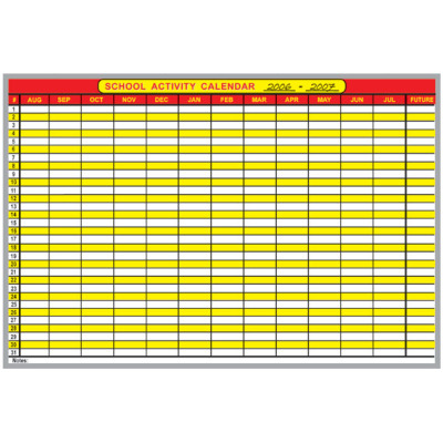 school activity one year board kit