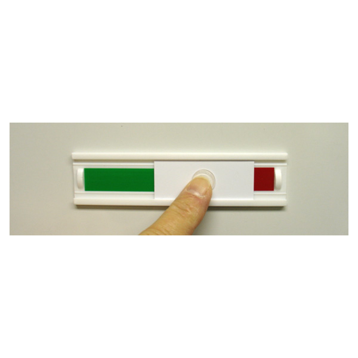 magnetic red green status indicator
