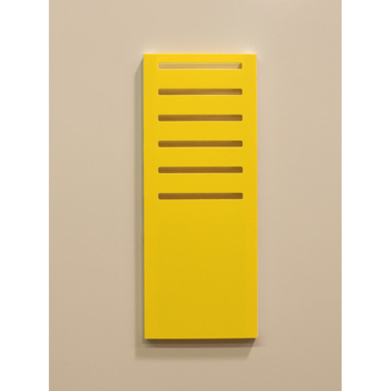 yellow T-card slot base holder