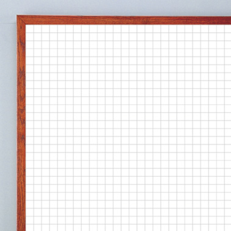 disappearing grid pattern on whiteboard