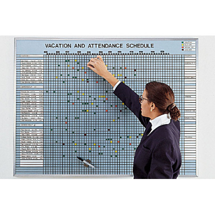 vacation and attendance board kit