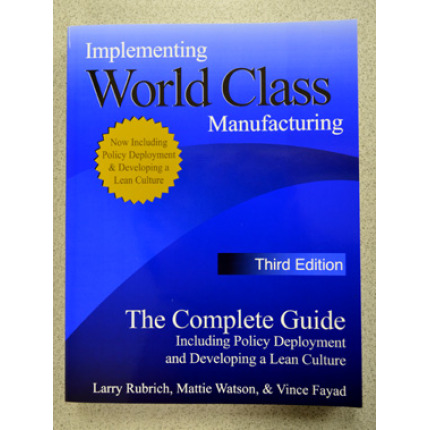 lean manufacturing manual