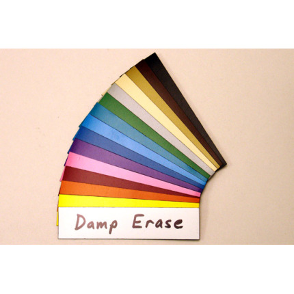 damp erase magnet colors